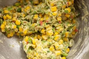 Easy Vegan Zucchini and Sweetcorn Fritters