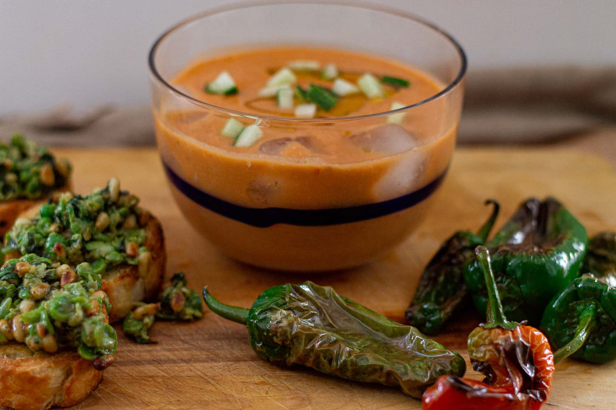 How to Make Easy Delicious Gazpacho Soup